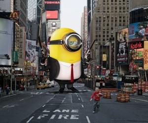 Phọt cười với bộ ảnh Photoshop Minions thống trị thế giới