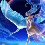 Ảnh động thiên thần tình yêu bóng tối đẹp đầy huyền bí