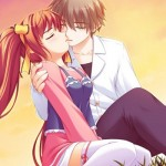 Hình ảnh hoạt hình dễ thương về tình yêu siêu lãng mạn