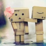 Hình ảnh người gỗ Danbo dễ thương trong tình yêu