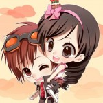 Avatar cặp, Avatar cặp đôi hoạt hình dễ thương cho 2 người