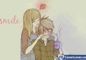 Cover ảnh bìa facebook cho cặp đôi đang yêu dễ thương