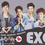 Ảnh động Exo, ảnh động nhóm Exo cực dễ thương nhất