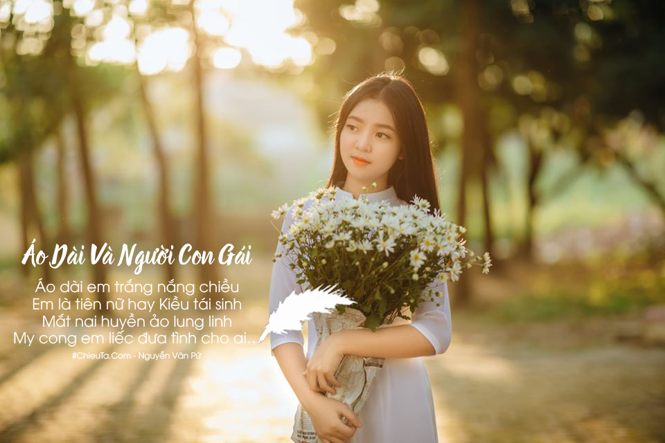 Bài Thơ Về Áo Dài - Chùm Thơ Ý Nghĩa Về Chiếc Áo Dài Việt Nam Hay