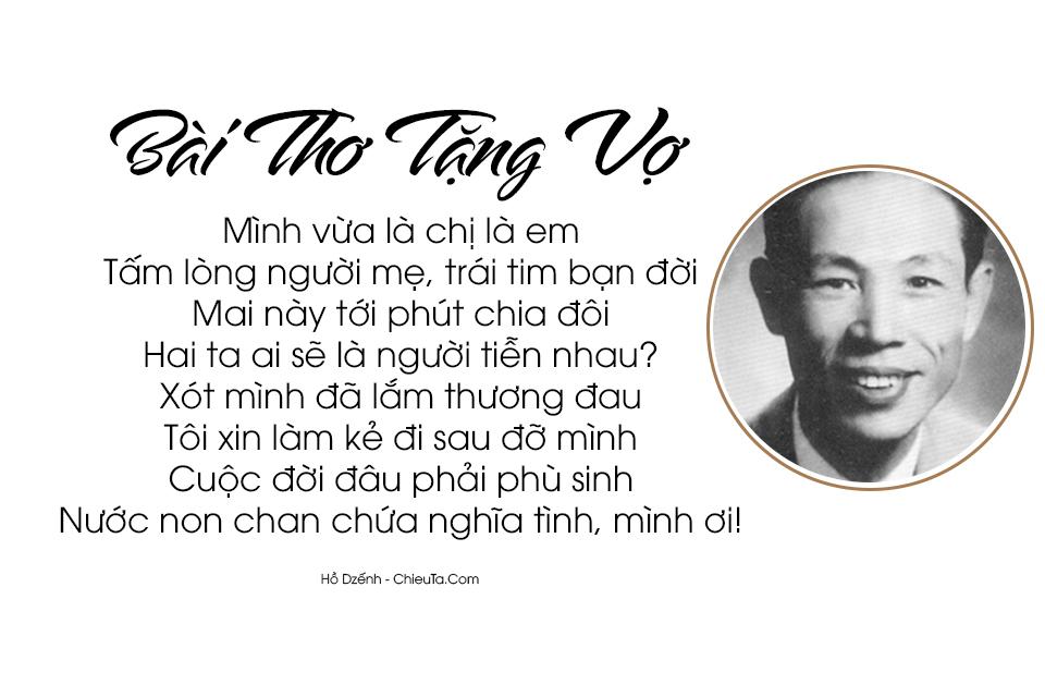Tuyển Tập 17 Chùm Thơ Hay Nhất Của Hồ Dzếnh (Hà Triệu Anh)
